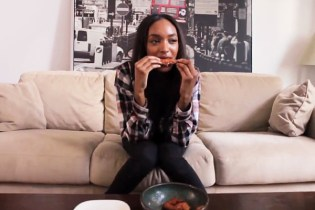 Jourdan Dunn Serves Up Some Wings