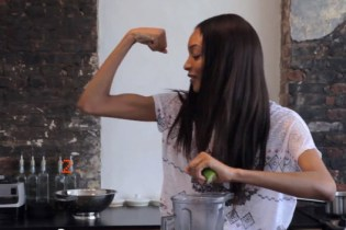 Jourdan Dunn Sizzles in the Kitchen