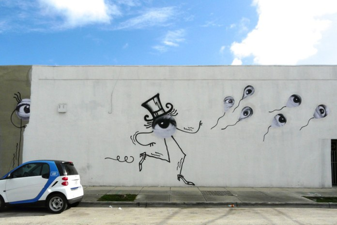 JR x André @ Basel Week Miami 2012