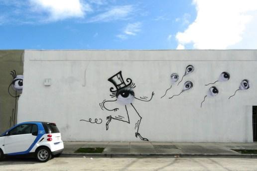 JR x André @ Basel Week Miami 2012