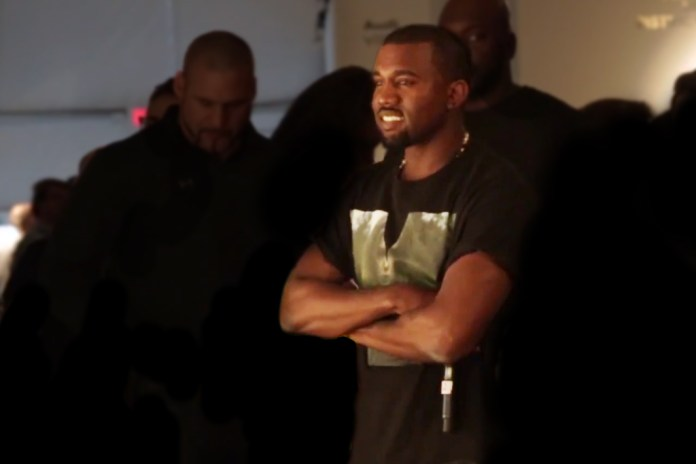 Kanye West Surprises Pharrell During Design Miami Q&A