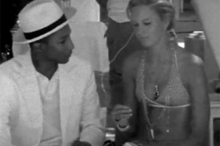 Pharrell Williams and Karolina Kurkova Star in Jason Goldwatch's 'Time Pieces' Series