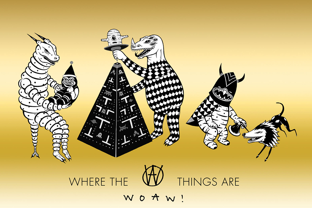 "Kevin Poon's ""Where the WOAW! Things Are"" Starts This Wednesday"