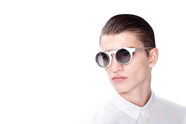 kris van assche 2013 spring summer eyewear campaign