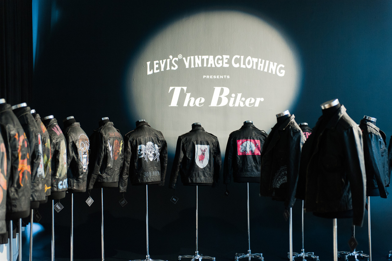 "Levi's Vintage Clothing ""The Biker with Oil and Leather & The Bikeriders"" Recap"
