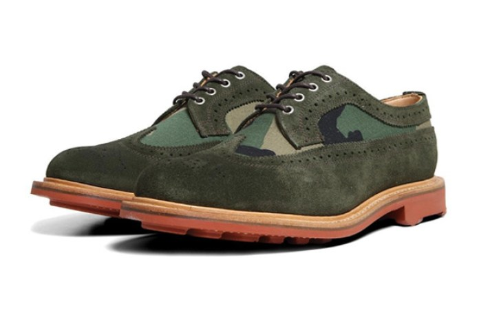 Mark McNairy Two Tone Long Wing Brogue