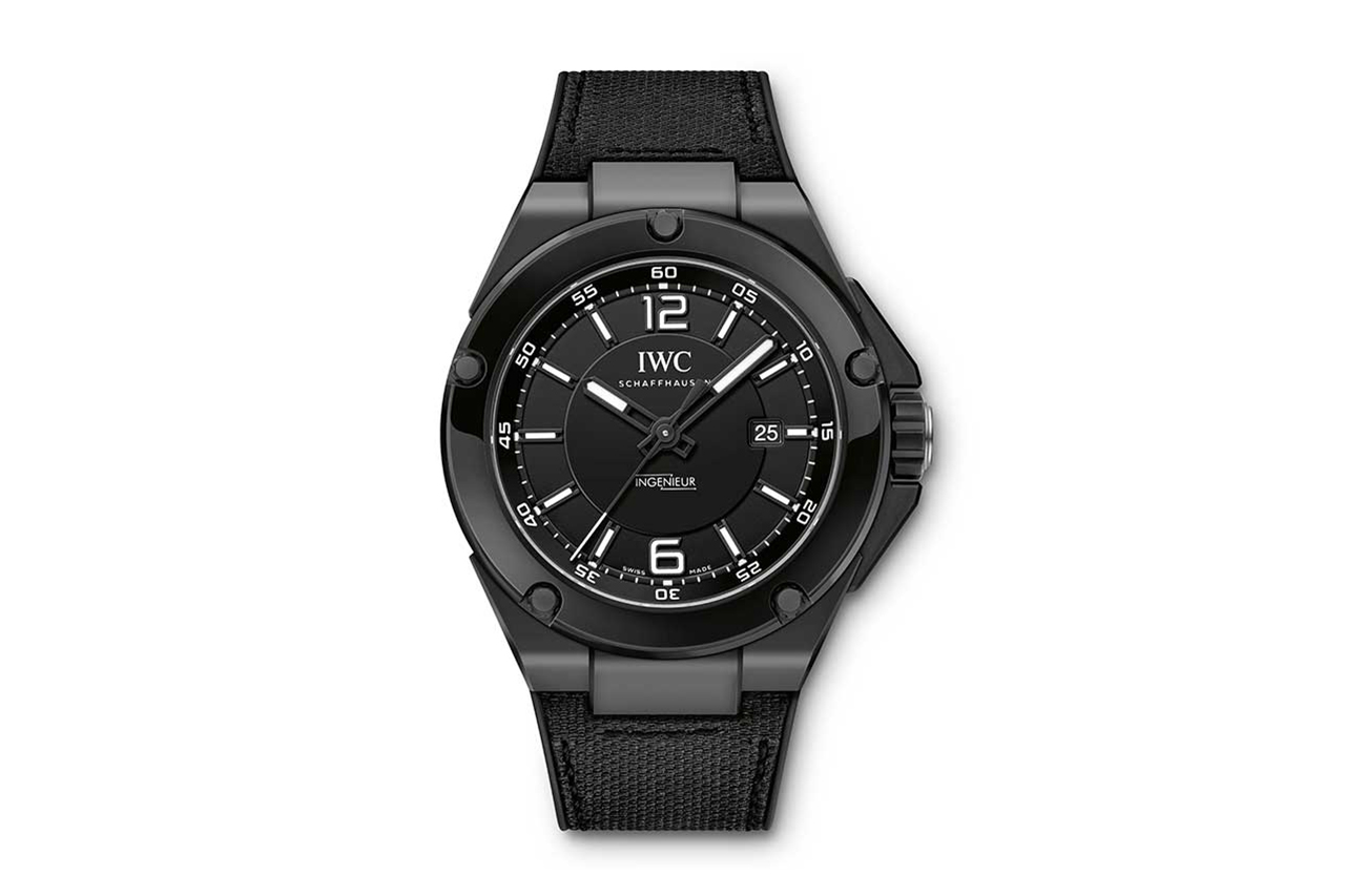 "Mercedes AMG x IWC Ingenieur Automatic ""Black Series"" Ceramic Watch"