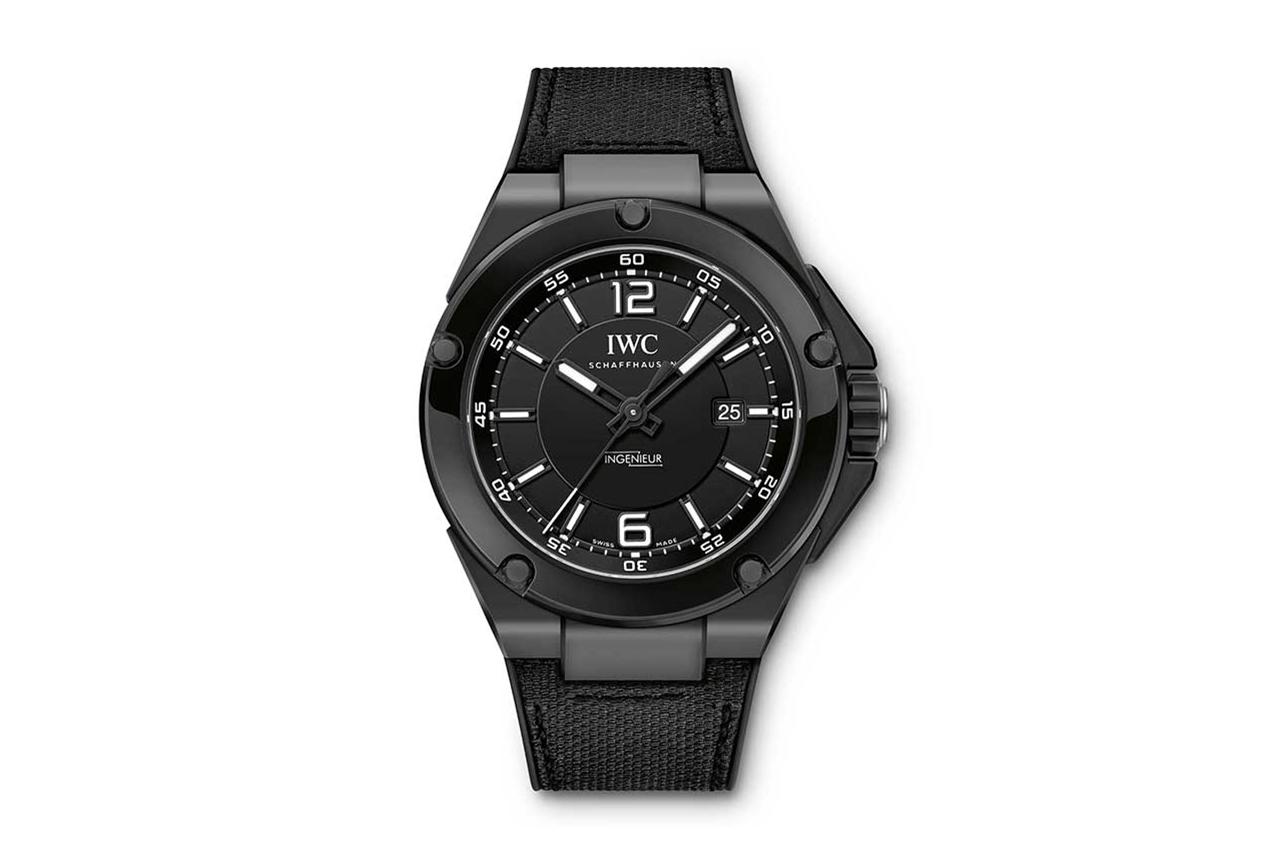 "Mercedes AMG x IWC Ingenieur Automatic ""Black Series"" Ceramic Watch"