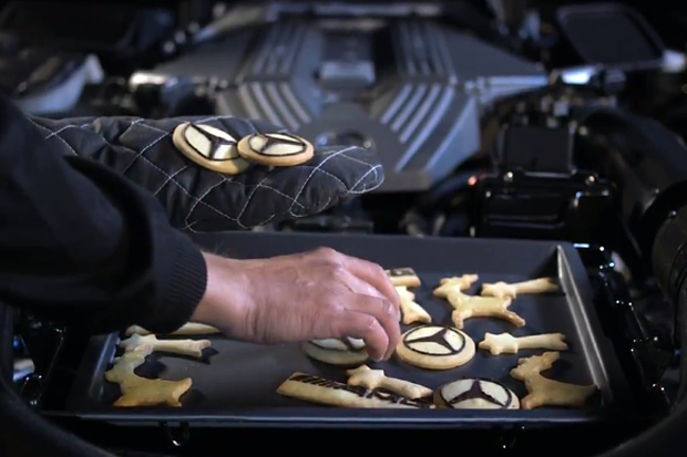 Mercedes-Benz AMG Celebrate the Holidays in Unconventional Style