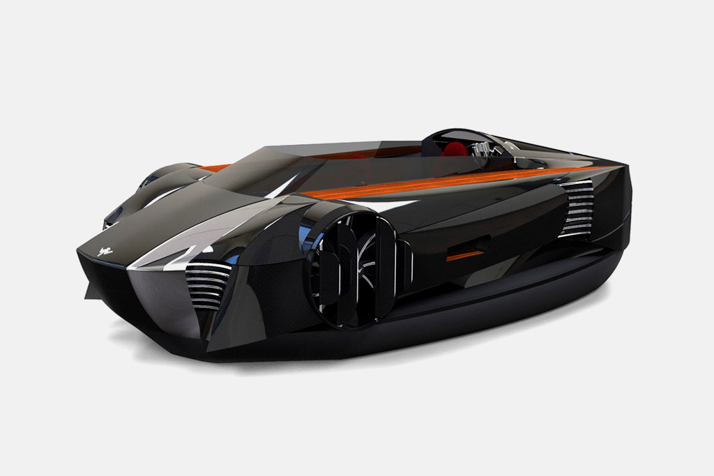 mercier jones hovercraft
