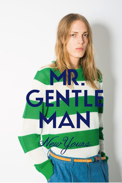 MR. GENTLEMAN 2013 Spring/Summer Collection Preview