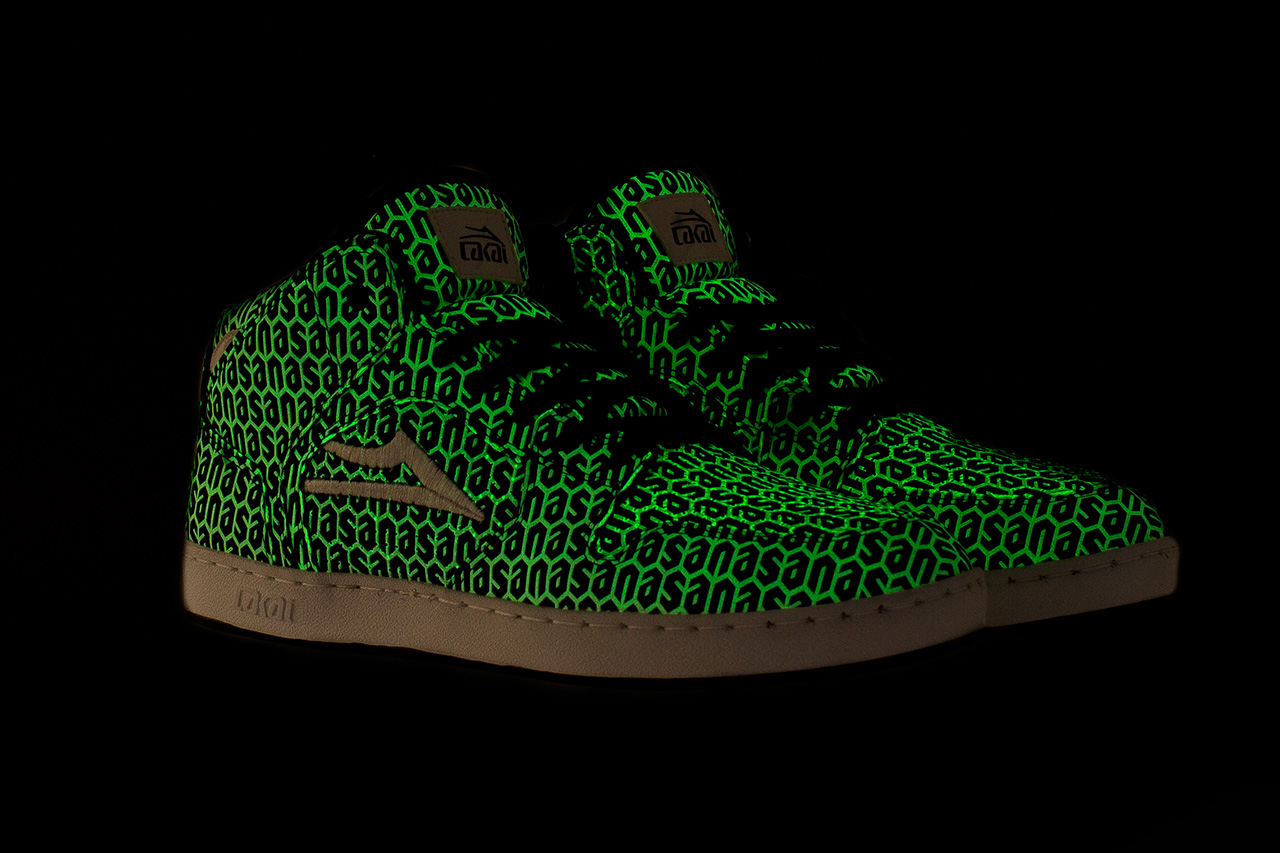 N.A.S.A. x Lakai Glow-in-the-Dark Telford Shoe