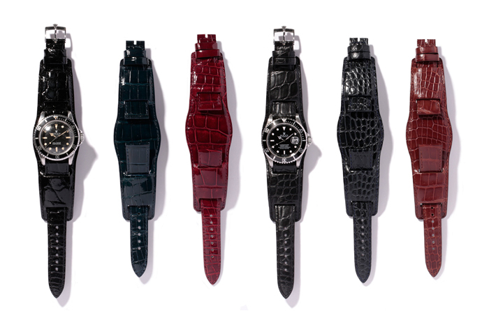 neighborhood x porter 2013 spring leather watch straps
