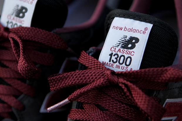 New Balance 1300 Burgundy/Grey