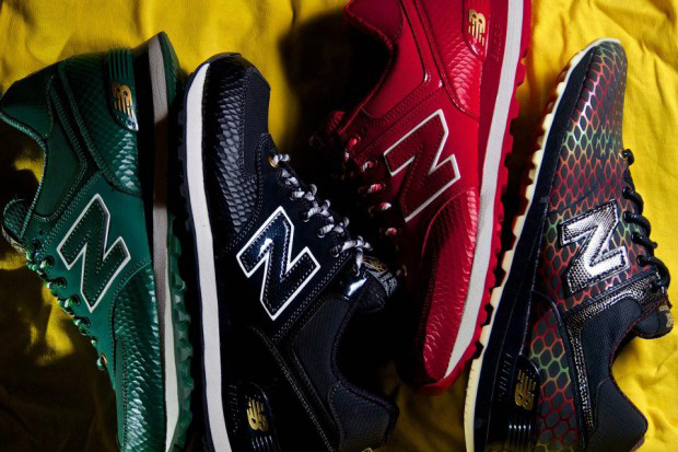 new balance 2013 ml574 year of the snake collection