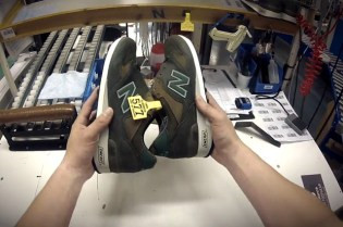 New Balance Showcases Its Flimby, England Factory