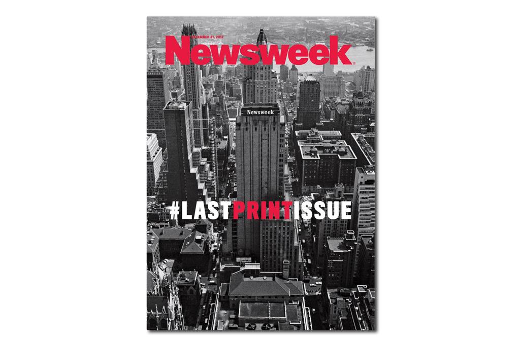 #LASTPRINTISSUE from Newsweek