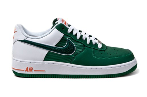 "Nike Air Force 1 ""Irish Varsity"""