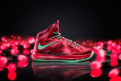Nike Basketball Release Christmas Versions of the Kobe 8 System, LeBron X and KD V