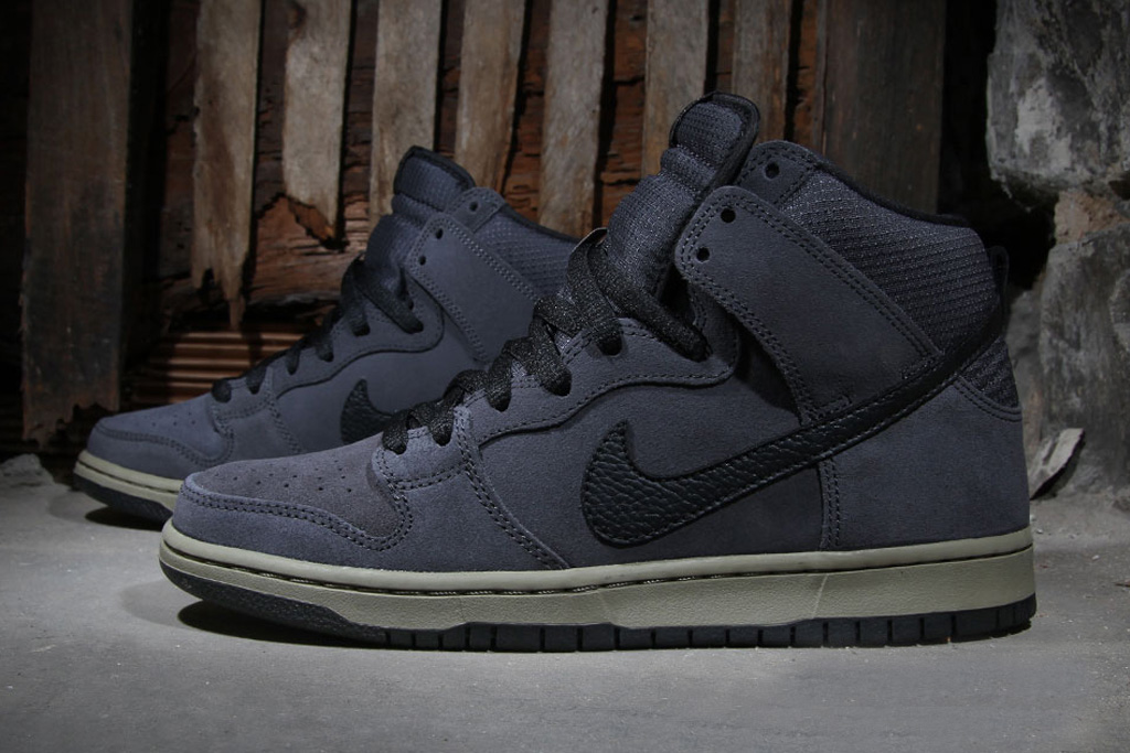 nike sb dunk high anthracite