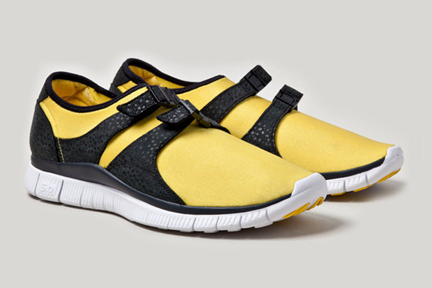 nike free sock racer og yellow
