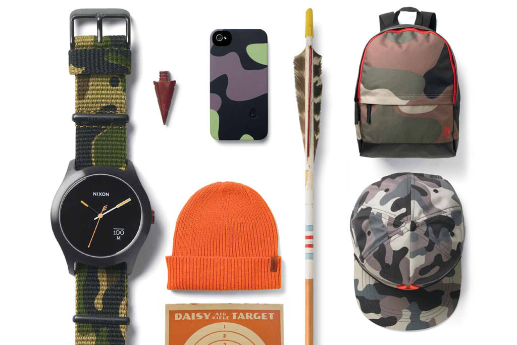 "Nixon 2013 Spring/Summer ""Camo"" Collection"