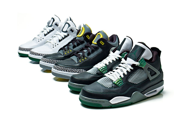Oregon Ducks x Air Jordan III & IV