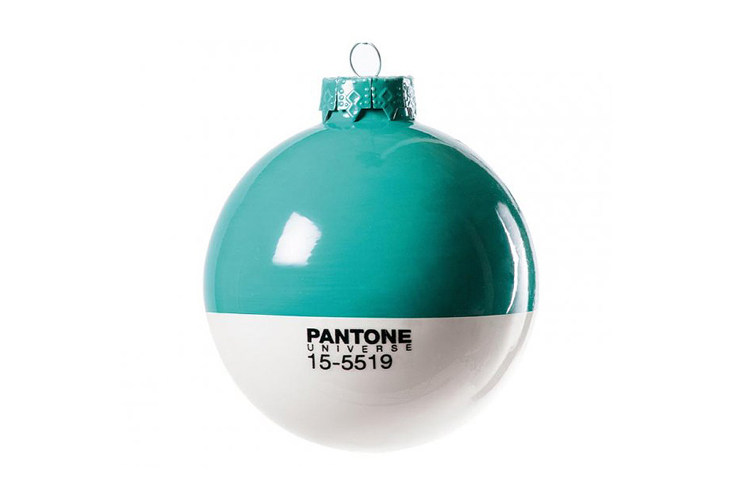 pantone christmas baubles