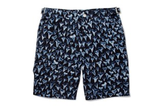 Paul Smith Shark Tooth-Print Swim Shorts