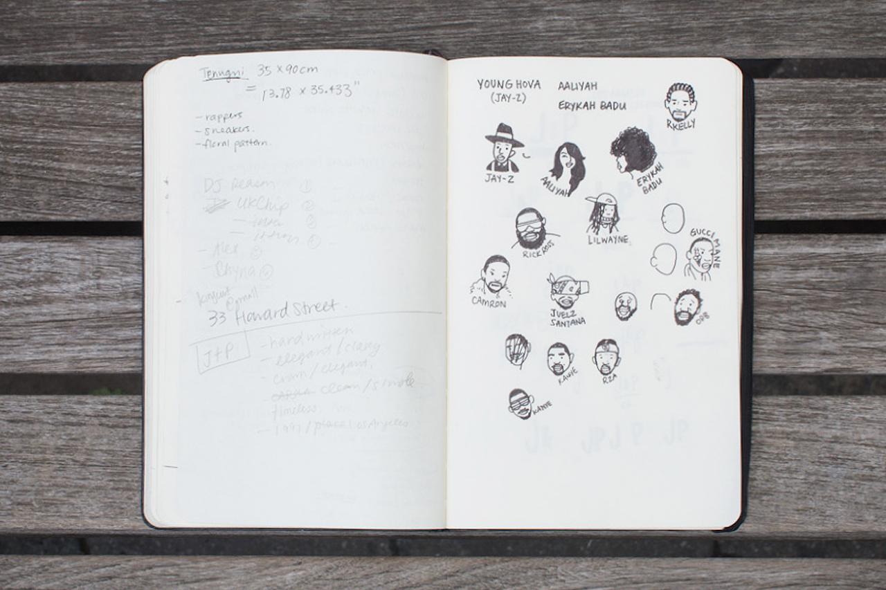 Pen & Paper: Sophia Chang