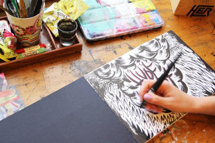 Pen & Paper: Suzi Kemp