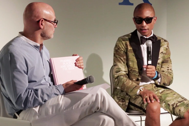 Pharrell Williams and Craig Robins Talk Art and Design at Design Miami 2012