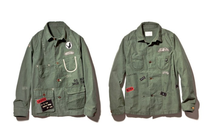 "Porter Classic 2013 Spring/Summer ""Hand Work"" Jacket"