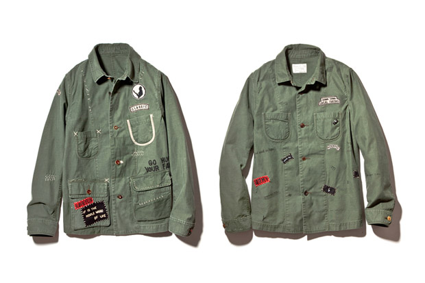porter classic 2013 spring summer hand work jacket