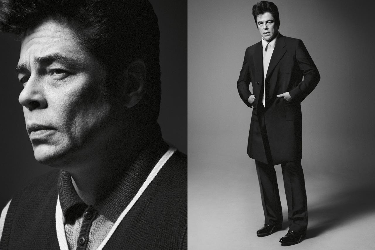 Prada's 2013 Spring/Summer Campaign featuring Dane DeHaan, Benicio del Toro, Harvey Keitel and Aaron Taylor-Johnson