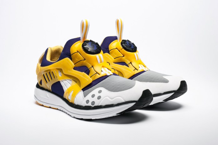 "PUMA Disc Blaze LTWT ""Los Angeles Lakers"" UNDFTD Exclusive"