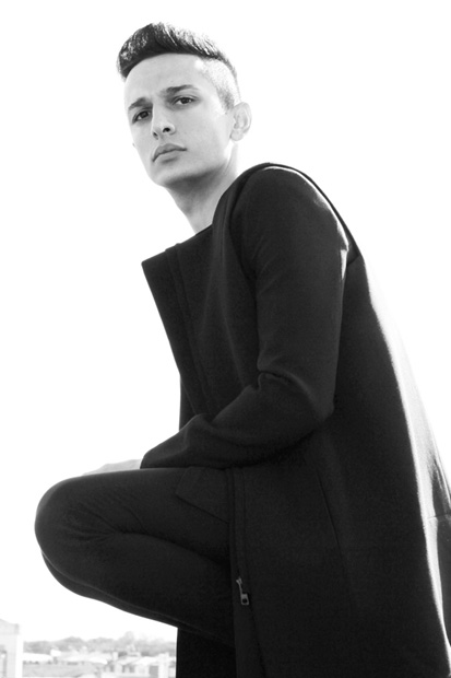 Rad Hourani Models the Pre-RAD Unisex Collection Limited Edition: Part 2