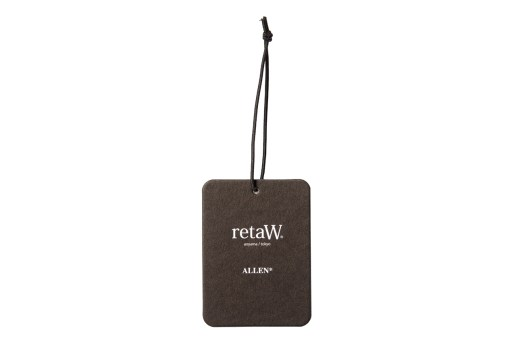 retaW Allen Fragrance Luggage Tag