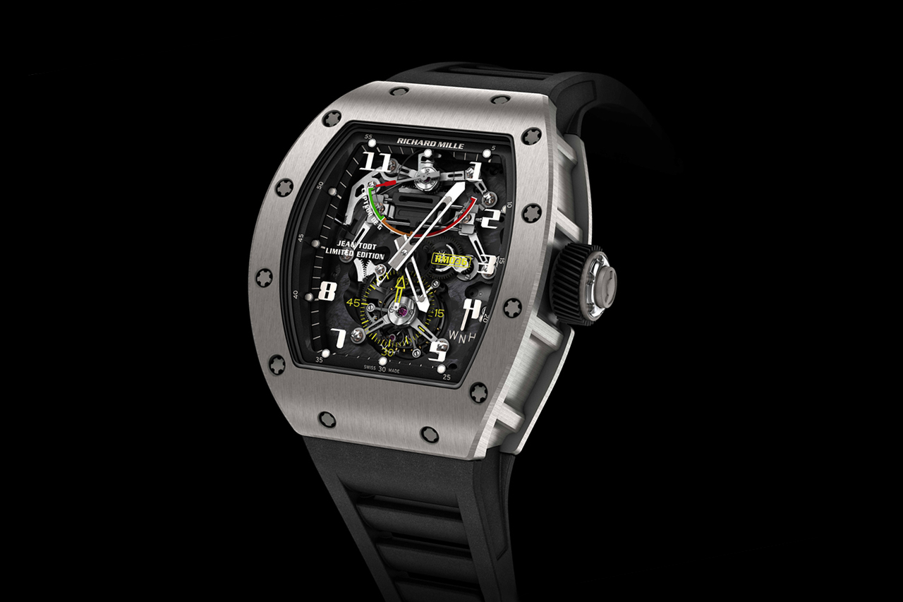 richard mille rm036 tourbillon g sensor limited edition jean todt