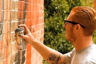 RONE x MEGGS Mural in Melbourne Video