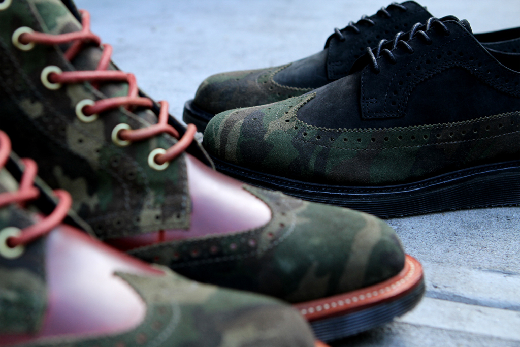 Ronnie Fieg x Dr. Martens 2012 Fall/Winter Capsule Collection Part 2
