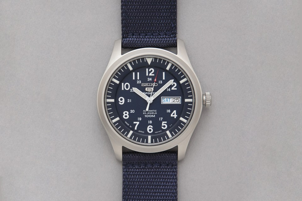 Seiko made in japan military watch hypebeast for Watches japan