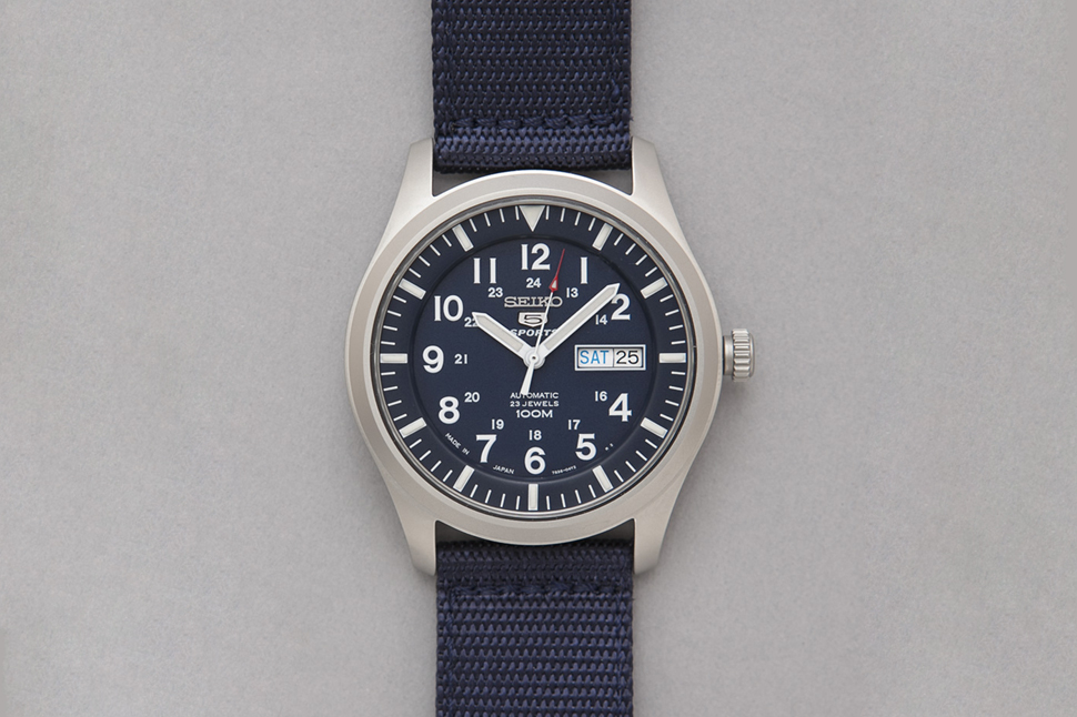 Seiko Made In Japan Military Watch