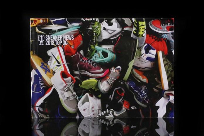 Sneaker News 2012 Top 30 Book