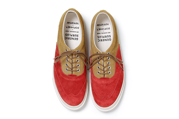 SOPHNET. x nonnative 2013 Spring/Summer Wingtip Sneaker by Generic Surplus