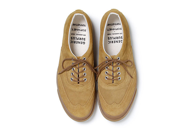 sophnet x nonnative 2013 spring summer wingtip sneaker by generic surplus
