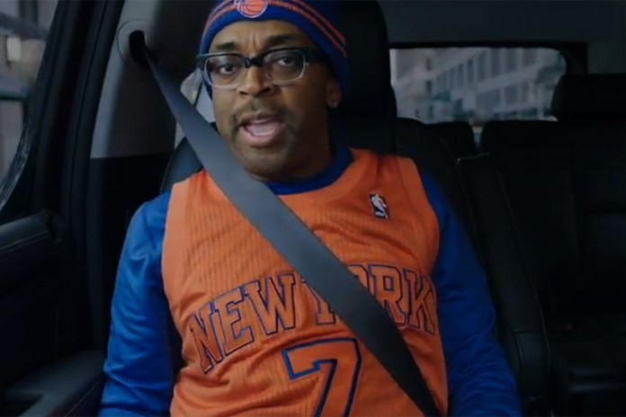"Spike Lee Stars in ""The King of New York"" NBA Spot"