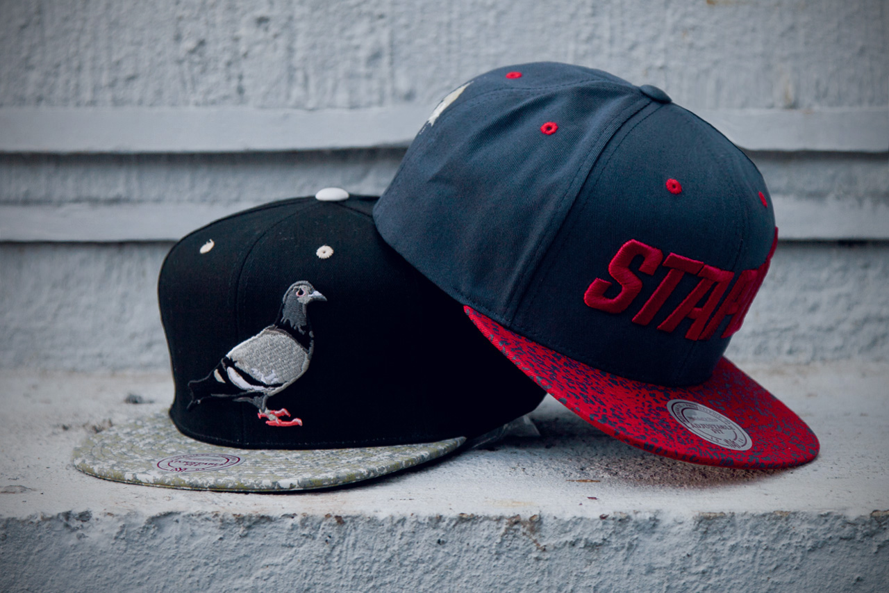 staple x mitchell ness 2012 headwear collection