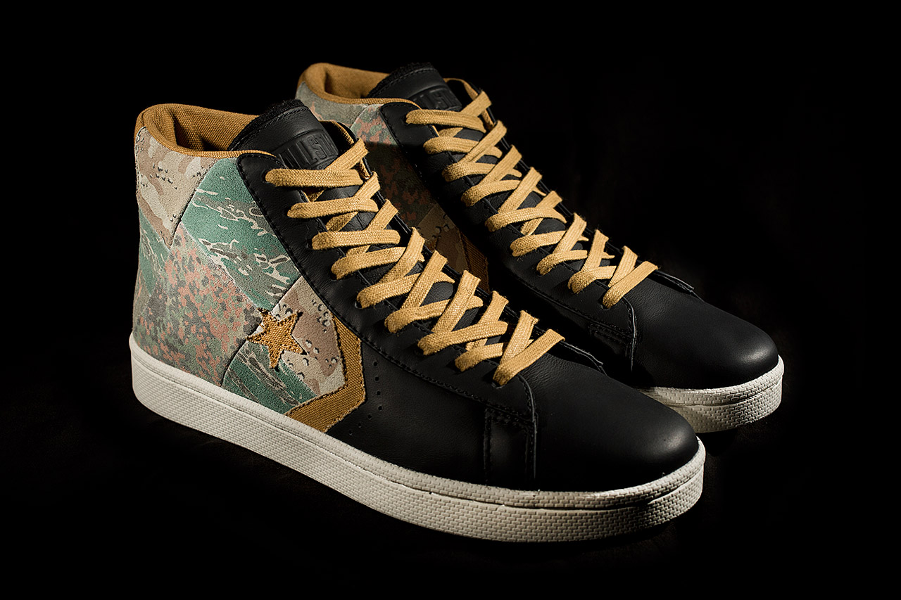 Stussy Chapters for Converse First String Pro Leather
