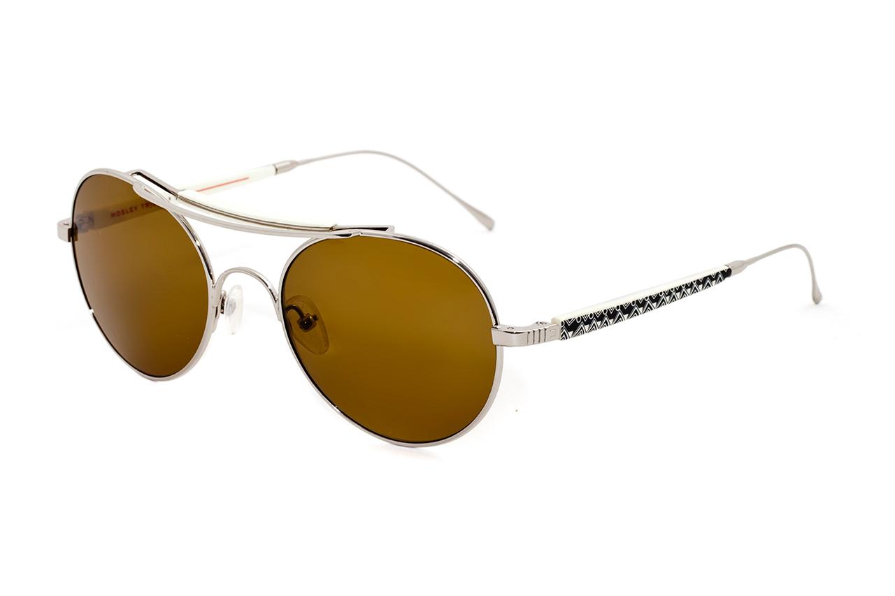 Stussy x Mosley Tribes Aviator Sunglasses